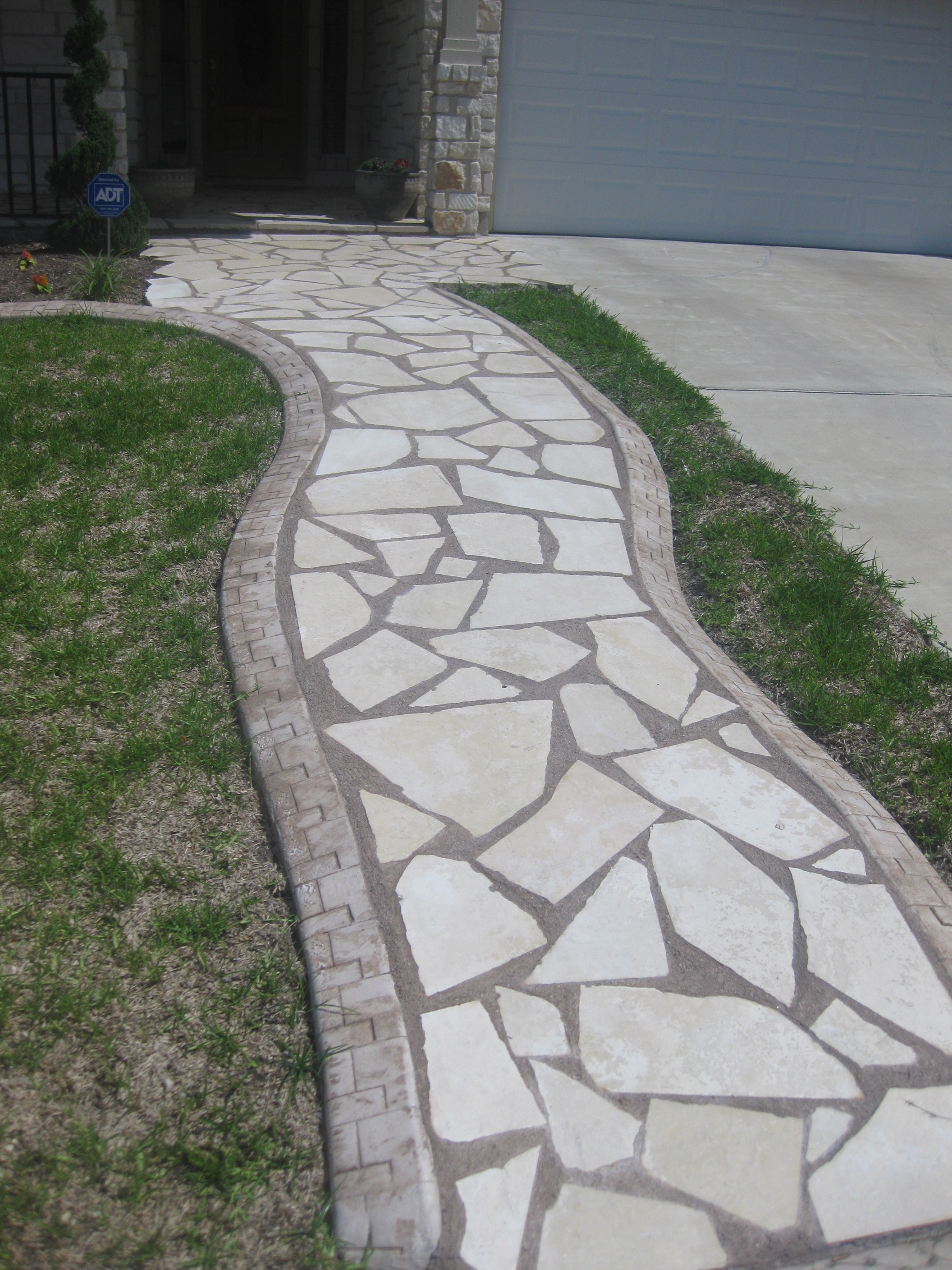 Edging For Flagstone Patio Ideas